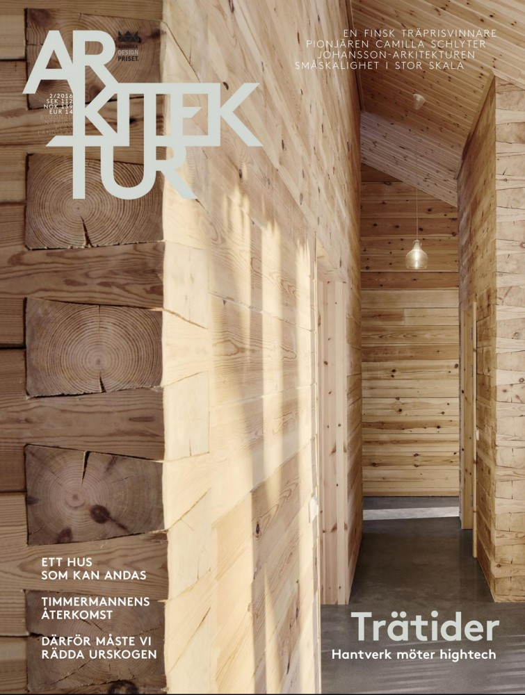 Tema trä – av Annica Kvint Lidzell Arkitektur Nr 2 2016