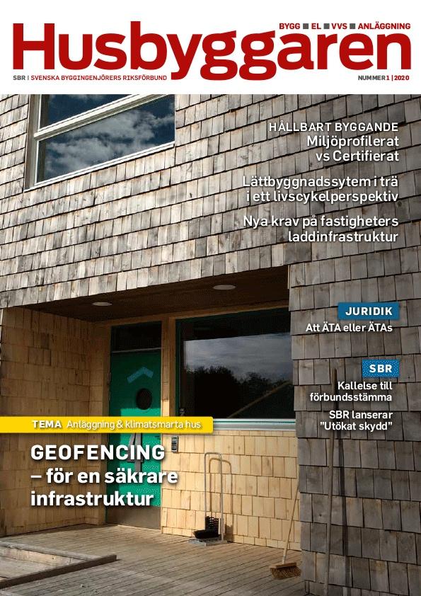 Ett lättbyggnadssystem i trä ett livscykelperspektiv, Husbyggaren Nr 1 2020