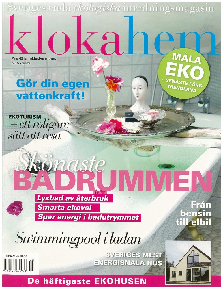 "Hus Torkel – ""Grönt i varje detalj"", Kloka Hem Nr 5 2009"