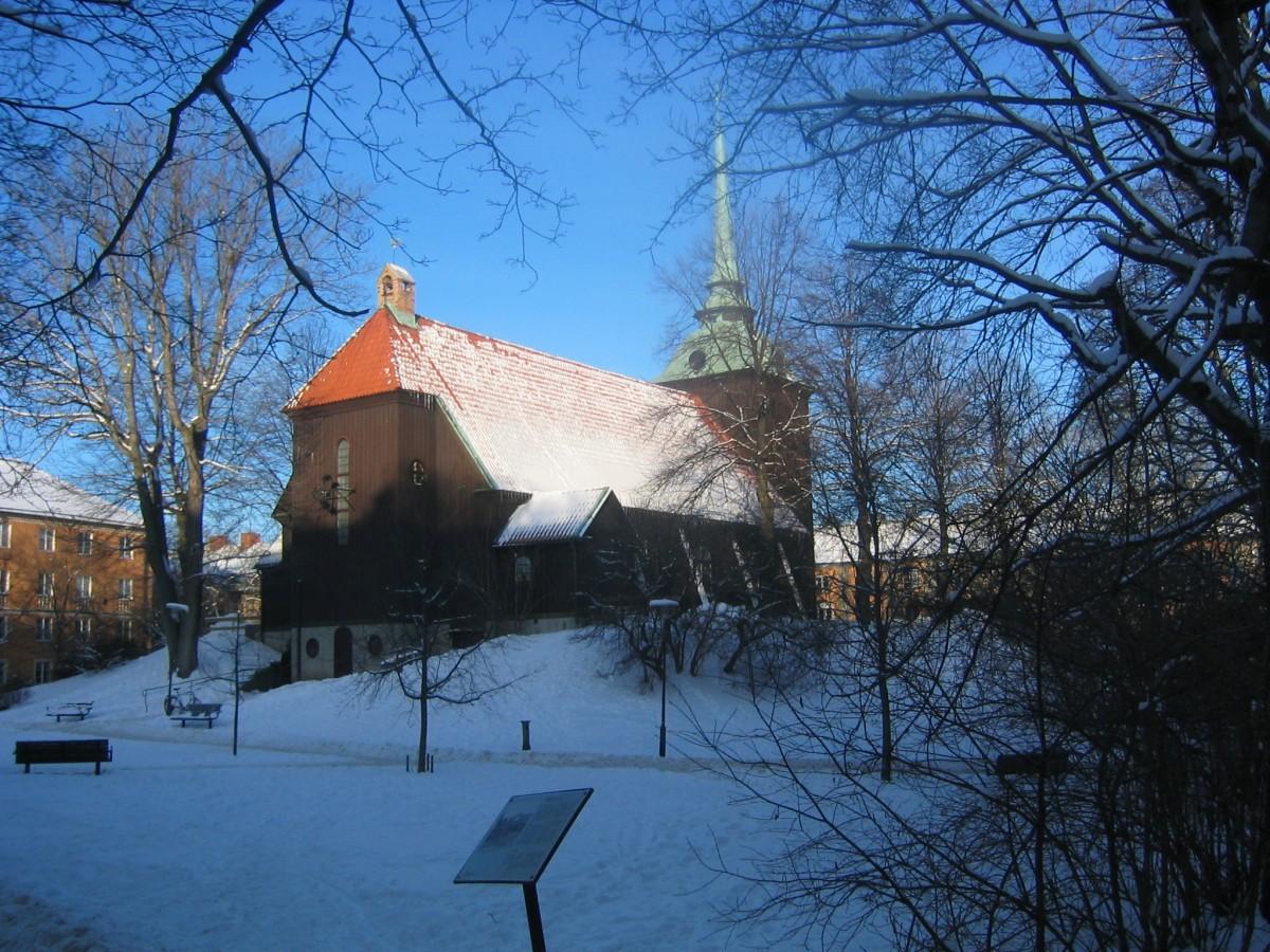 Allhelgonakyrkan Helgalunden Södermalm Stockholm