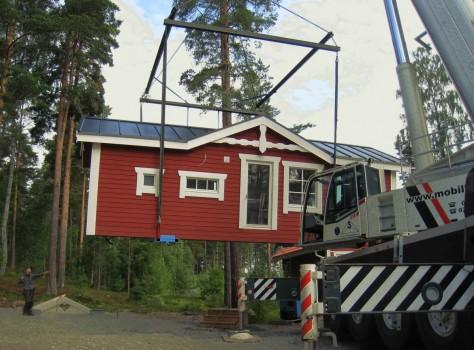 Lodge 38 Stugbyn i Sverige AB Snart på plats