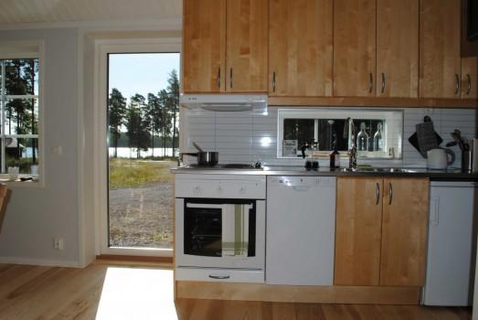 Lodge 38 Stugbyn i Sverige AB Köksuppställning