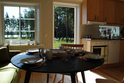 Lodge 38 Stugbyn i Sverige AB Bordet är dukat