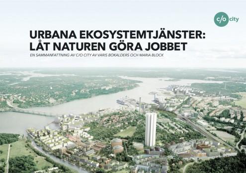 Urbana Ekosystemtjänster Framsida