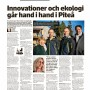 Årets Bygge 2019 Nominering Lusthusbacken Piteå – Johanna Åfreds, Byggindustrin 2019