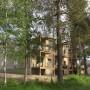 Hus nr 1 och 2 i natur  (vy från vattensidan) 2017-06-28
