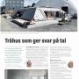 """Trästad Sverige – """"Trähus som ger svar på tal"""", Södra Karlgård Skellefteå, Grönbo, 2019"""