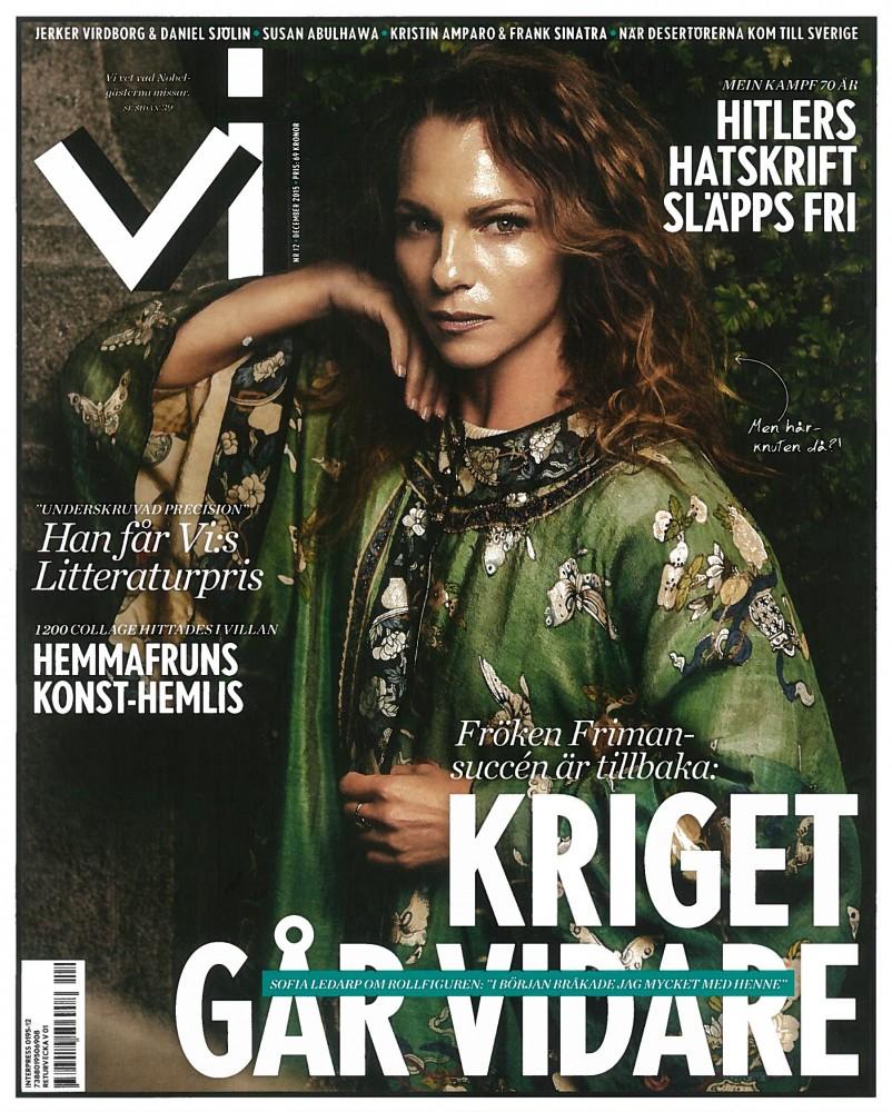"""Formgivet – """"Omlott genom tiderna"""" Tidningen Vi 2015"""